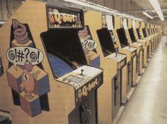 Q-bert on the factory floor #oldschool #arcade