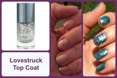 LOVESTRUCK TOP COAT Jamberry Nail Lacquer #LovestruckTopCoatJN www.debsjaminails.jamberrynails.net