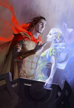 Ramman and  Daena by Ylum.deviantart.com on @deviantART