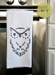 If you need a new towel for your kitchen then you must try making one yourself at fraction of a cost with this diy (it will also make a great gift or can used for wrapping a gift). Niki has shared this cool tutorial for making a fun and quirky dish towel. To read more information and for step by step instructions with images go here.
