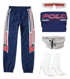 Untitled #445 by youraveragestyle on Polyvore featuring polyvore, fashion, style, adidas, Yeezy by Kanye West, AmeriLeather and clothing