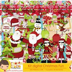 Kit digital Christmas Fun