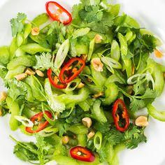 Thai Celery Salad with Peanuts