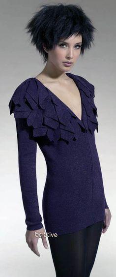 Avant-garde knitwear from LisaT