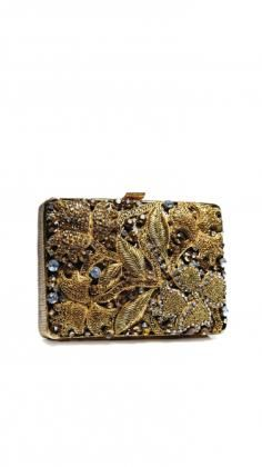 Indian Bags, Indian Clutches | Strandofsilk.com - Indian Designers