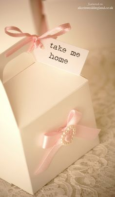 only cute thing - the saying to put on favors