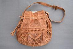 Moroccan Wanderlust Bag Cultural Diversity, Leather Bags Handmade, Free Spirit, Hand Stitching, Morocco, Bucket Bag, Artisan, Wanderlust, Celebrities