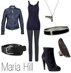 agent maria hill.