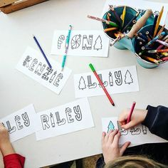 Rad and Happy Fonts Christmas Kindergarten Printing Learning Names Holidays Laura King ( Happy Font, Crazy Hair Days, Fonts, Printing, Bring It On, Names, King, Holidays, Photo And Video