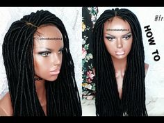 HOW TO DO DREAD EXTENSION ON A WIG CAP [Video] - https://blackhairinformation.com/video-gallery/dread-extension-wig-cap-video/