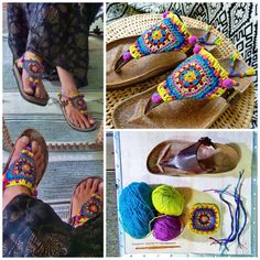 DIY~ Bright Boho crochet