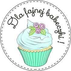 Digi stemple by AliceCreations: Babeczki Cupcake Torte, Cupcakes, Quilling, Digital Stamps, Baby Shower, Planer, Cardmaking, Free Printables, Decoupage