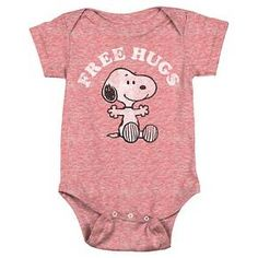 Ordered it! Peanuts Snoopy Baby Boys' Bodysuit - Red