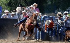 Roping experience Senior Pro Rodeo draws riders to Ravalli County Fairgrounds - Perry Backus
