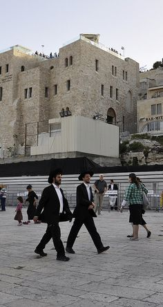 Jerusalem - Crossing the Plaza Places To Travel, Places To See, Jerusalem Travel, Psalm 122, Orthodox Jewish, Israel Palestine, Holy Land, Torah, Travel Abroad
