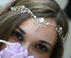 pretty head piece jewelry