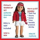Chrissa Maxwell® Girl of The Year 2009  Chrissas warm up outfit