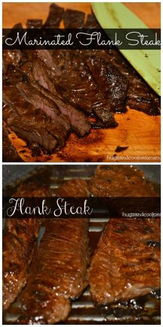 BEST MARINATED FLANK STEAK-OMG!!