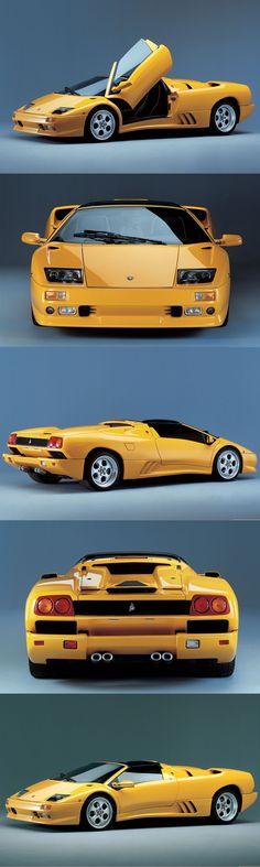 1995 Lamborghini Diablo VT Roadster / 530hp V12 / Marcello Gandini / ~200 prod.