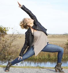 """Yoga has taught me to embrace the unknown as a place of endless potential."" - Kathryn Budig"