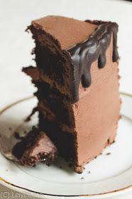 LeivinLiina: Suklaakakku suklaakreemillä Food Inspiration, Desserts, Tailgate Desserts, Deserts, Postres, Dessert, Plated Desserts