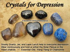 Top Recommended Crystals: Smoky Quartz, Lapis Lazuli, or Jet.  Additional Crystal Recommendations: Lepidolite, Kunzite, or Sunstone
