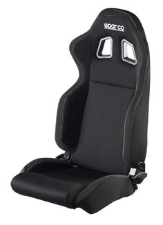 Sparco R100 Reclinable Racing Seat - Black - Guerilla Racing