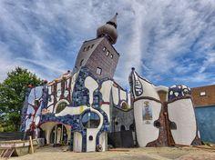 pinterest Hundretwasser plans architecture - Hledat Googlem