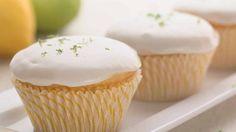 Cupcakes veganos de limão (sem manteiga, ovos ou leite)