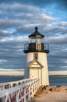 Brant Point at Golden Hour - winter, Nantucket Island, Massachusetts