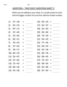 Check out our new collection of free and printable third-grade worksheets to help your students learn key third-grade skills with fun exercises. We have math, English, reading, and science worksheets for third grade. Multiplication Facts Worksheets, Math Addition Worksheets, 3rd Grade Math Worksheets, Free Printable Math Worksheets, Third Grade Math, School Worksheets, Math Facts, Math 2, Grade 3