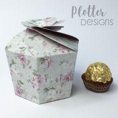 Plotterdatei Cookie-Box von PlotterDesigns Cricut, Decorative Boxes, Design, Home Decor, Paper, Binder, Goodies, Packaging, Tutorials