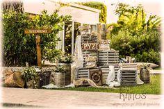 ρυζι rustic boho Firewood, Rustic Decor, Wedding Decorations, Baptism Ideas, Texture, Crafts, Boho, Woodburning, Manualidades