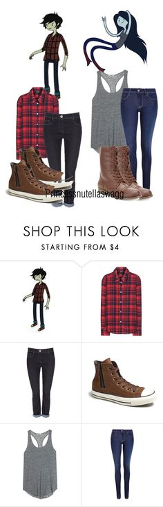 """""""Marshall and Marceline: Adventure Time"""" by princessmikyrah ❤ liked on Polyvore featuring A.P.C., Wallis, Converse, Acne Studios, Salsa and Rampage"""