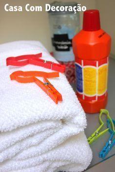 Dica para evitar mau cheiro nas roupas lavadas em dias úmidos