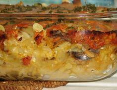 Zapiekanka wegetariańska z makaronem