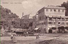 1911 Portofino (Genova) Cafè Restaurant Hôtel Delfino