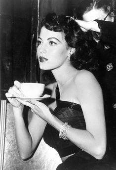 """"""" Ava Gardner, 1940s. """""""