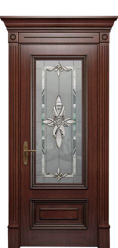 Wooden Doors, Doors Interior Modern, Pooja Room Door Design, House Front Design, Stained Glass Door, Ceiling Design, Wooden Front Doors, Door Glass Design, Wooden Door Design