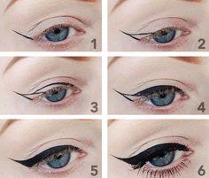 Nauč sa kresliť očnú linku [lekcia krásy]   Akadémia Krásy