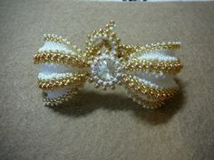 Pattern for the gothic butterfly bracelet using more standard sizes of beads (8o, 11o, 15o and a 12mm rivoli)