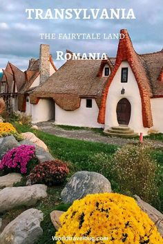 Romania has a lot of unique attractions to offer and I am happy to write about one of the most recent ones - the fairy tale clay castle in Porumbacu de Sus, a Places To Travel, Places To Go, Romania Travel, Beautiful Roads, Beautiful Places, Wonderful Places, Destinations, Destination Voyage, Modern City