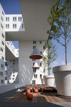 MVRDV (Project) - Parkrand in Amsterdam Geuzenveld door MVRDV - architectenweb.nl