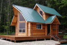 Prow Front Tiny House