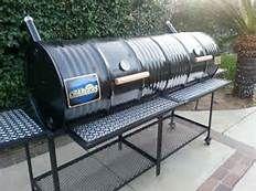 Custom Made Offset Smokers Bing Images Barrel Smoker Bbq Grills