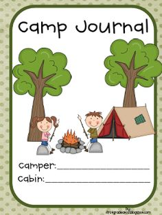 Camp-Learned A Lot end of the year camp activities Freebie!  by First Grade A to Z
