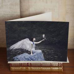 """The Night's Companion"" Greetings Card"
