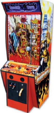 Rescue Hero Ticket Redemption Firefighting Arcade Game | From BMIGaming - http://www.bmigaming.com