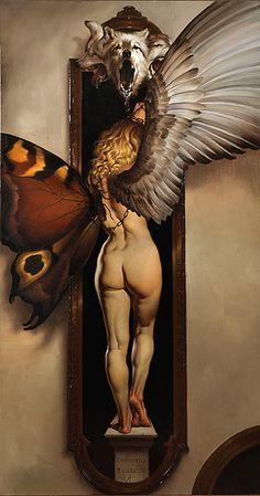 Italian Artist Roberto Ferri > a soft girl w/ lumps and bumps makes for a much more interesting subject. #nude #RobertoFerri