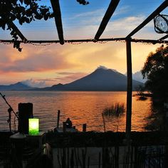 Sunrise in Santa Cruz Lake Atitlan Guatemala #holiday #tourism #photooftheday #photography #instamood #instalike #igers #love #lago #atitlan #guategram #sunrise #beautiful #lake #explorandoguatemala #tourism #instagood #picoftheday #sky #follow #like #lakeatitlan #clouds #cielo #nature #nofilter #naturaleza #volcano #volcan @phototag_it @all_my_own @aqua_gallery @travel.inspirations @landscape_captures #silhouette by charlies_earth http://OkAtitlan.com
